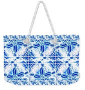 Sand Dollar Delight Pattern 6 Weekender Tote Bag by Monique Faella