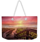 Sand Dune Morning Weekender Tote Bag