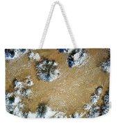 Sand Dune With Snow Weekender Tote Bag