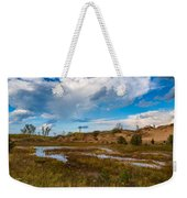 Sand Dunes In Indiana Weekender Tote Bag