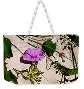 Sand Flowers Weekender Tote Bag