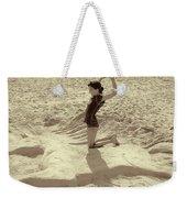 Sand Horse Weekender Tote Bag