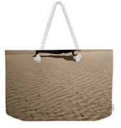 Sand Plank Weekender Tote Bag