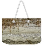 Sand Stone And Reeds Weekender Tote Bag