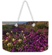 Sand Verbena Coyote Mountains Anza Borrego State Park California Weekender Tote Bag