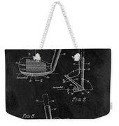 Sand Wedge Patent Weekender Tote Bag