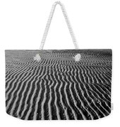 Sandbar Patterns Weekender Tote Bag