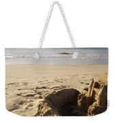Sandcastle On The Beach, Hapuna Beach Weekender Tote Bag