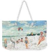 Sandcastles On Siesta Key Public Beach Weekender Tote Bag