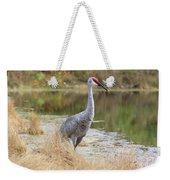 Sandhill Beauty By The Pond Weekender Tote Bag