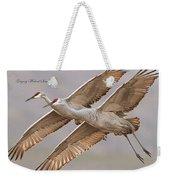 Sandhill Crane 11 Weekender Tote Bag