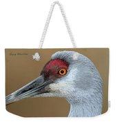Sandhill Crane 6 Weekender Tote Bag