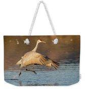 Sandhill Crane Dance Weekender Tote Bag