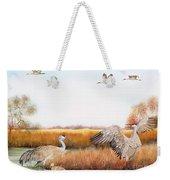 Sandhill Cranes-jp3159 Weekender Tote Bag