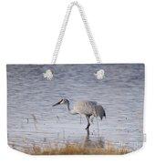 Sandhill On The Shore Weekender Tote Bag