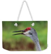 Sandhill Song Weekender Tote Bag