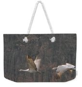 Sandhills In Flight Weekender Tote Bag