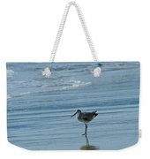 Sandpiper On The Beach Weekender Tote Bag