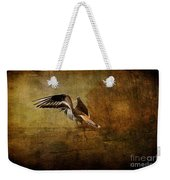 Sandpiper Piping Weekender Tote Bag
