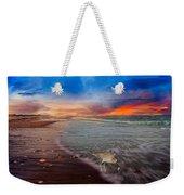 Sandpiper Sunrise Weekender Tote Bag
