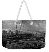 Sandpoint Marina And Byway Weekender Tote Bag