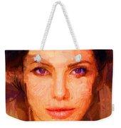 Sandra Jolie Weekender Tote Bag