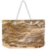 Sandstone Formation Number 3 At Starved Rock State Weekender Tote Bag