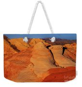 Sandstone Formations In Valley Of Fire State Park Nevada Weekender Tote Bag by Dave Welling