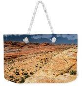 Sandstone Landscape Valley Of Fire Weekender Tote Bag