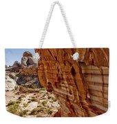 Sandstone Texture Weekender Tote Bag