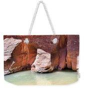 Sandstone Toes In The Virgin River Weekender Tote Bag