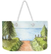 Sandy Beach Awaits Weekender Tote Bag