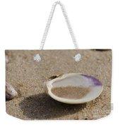 Sandy Dish Weekender Tote Bag