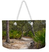 Sandy Path In Hunting Island South Carolina Weekender Tote Bag