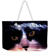 Sandy Paws Weekender Tote Bag