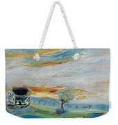 Sandy Ridge Cattle Weekender Tote Bag