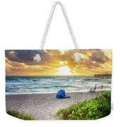 Sandy Walk Down To The Beach Weekender Tote Bag