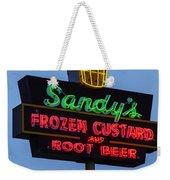 Sandys Frozen Custard - Austin Weekender Tote Bag