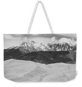 Sangre De Cristo Mountains And The Great Sand Dunes Bw Weekender Tote Bag