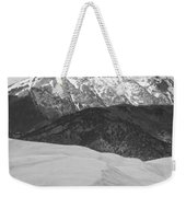 Sangre De Cristo Mountains And The Great Sand Dunes Bw V Weekender Tote Bag by James BO  Insogna