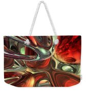 Sanguine Abstract Weekender Tote Bag