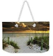 Sanibel Island Beach Access Weekender Tote Bag