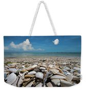Sanibel Island Sea Shell Fort Myers Florida Broken Shells Weekender Tote Bag