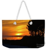 Sanibel Island Sunset Two Weekender Tote Bag