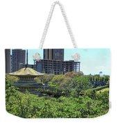 Sanju Pagoda Weekender Tote Bag