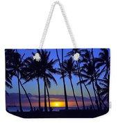 Sans Souci Sunset Waikiki Weekender Tote Bag