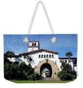 Santa Barbara Courthouse -by Linda Woods Weekender Tote Bag