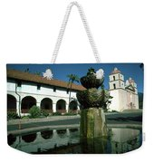 Santa Barbara Mission Weekender Tote Bag
