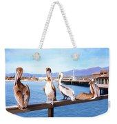 Santa Barbara Pelicans Weekender Tote Bag