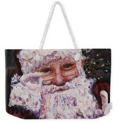 Santa Chat Weekender Tote Bag